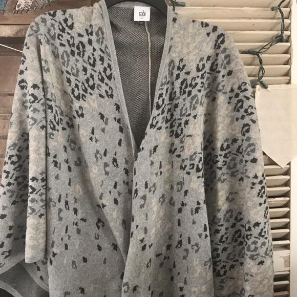 53% off CAbi Sweaters - CAbi Gigi Fall 15'Wrap/Poncho /Cape from ...