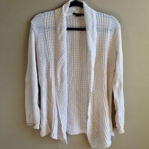 Super Cozy Cream Cardigan Sweater