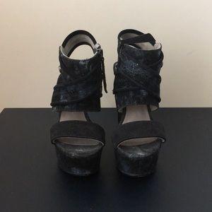 Diesel wedge sandals - Size 6