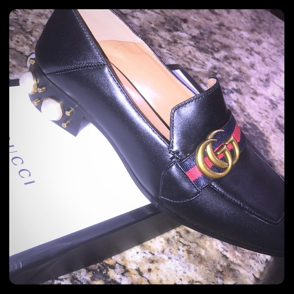 5205b432804d Gucci Peyton Embellished loafers. Listing Price   130
