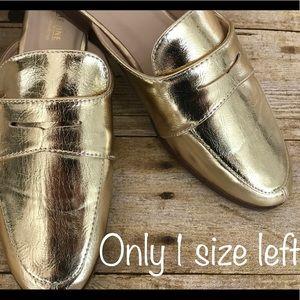 Catherine Malandrino Tuxedo mules 1 size left!!!!