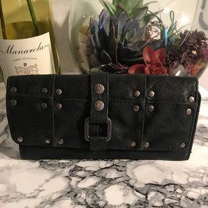 Roxy black wallet