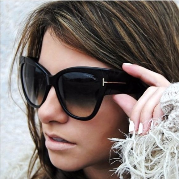 383c964bf8 Tom Ford Anoushka TF371 01B Sunglasses Cat Eye. M 59b720517f0a0558d30a9bf6.  Other Accessories ...