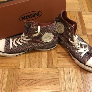Missoni Chuck Taylor High Top Converse