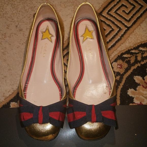 b0c5a7258df Gucci Aline Bow Ballerina Flats