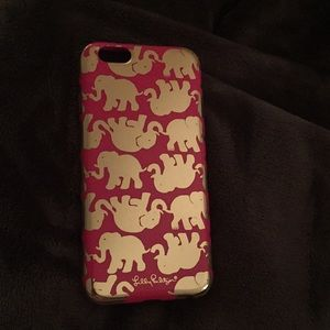 Lilly Pulitzer phone case (Iphone 6)