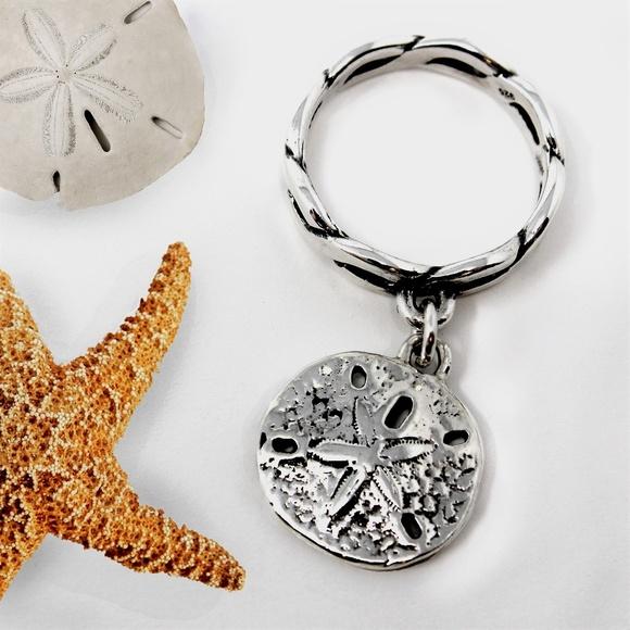 James Avery Jewelry | Twisted Wire Ring W Sand Dollar Charm | Poshmark