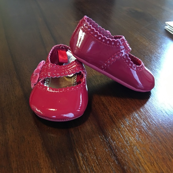 Gymboree Shoes | Baby Girls Size 1 Red