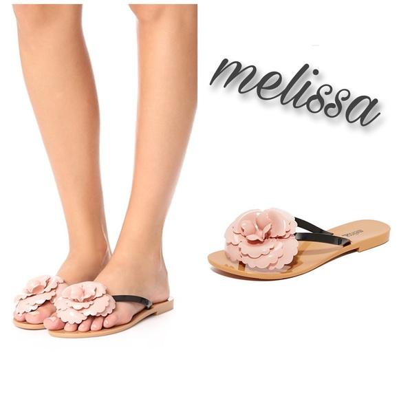 7add23b8f9fac Melissa Harmonic Flower Sandals Size 8. M 59b77d5936d5948450000149
