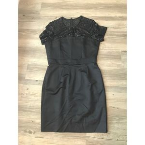 Black Trina Turn cocktail dress