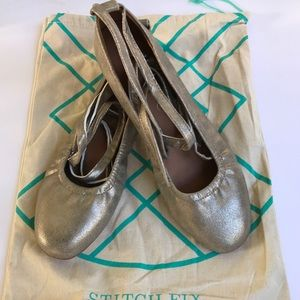 BC Footwear Lace-Up Ballerina Flat from Stitch Fix