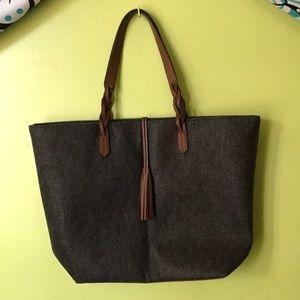 Handbags - Wool- like bag