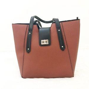 Handbags - Dark rust handbag