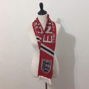 Accessories - Vintage England Football Scarf