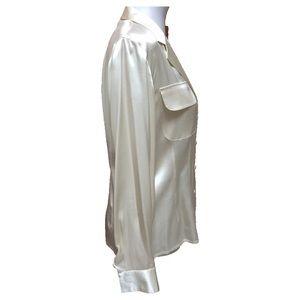 ecae4348b685f3 Saks Fifth Avenue Tops - Vintage Ivory Starington for Saks 5th Blouse