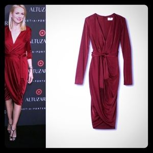 Altuzarra for Target Ruby Red dress