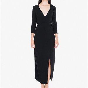 NWOT, American Apparel Juliard wrap dress, size S