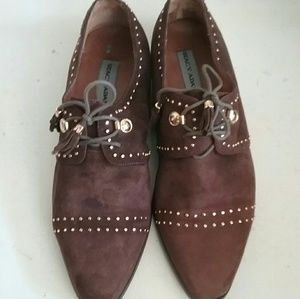 Stacy Adams Men's Suede Dress Shoes Size 11.5