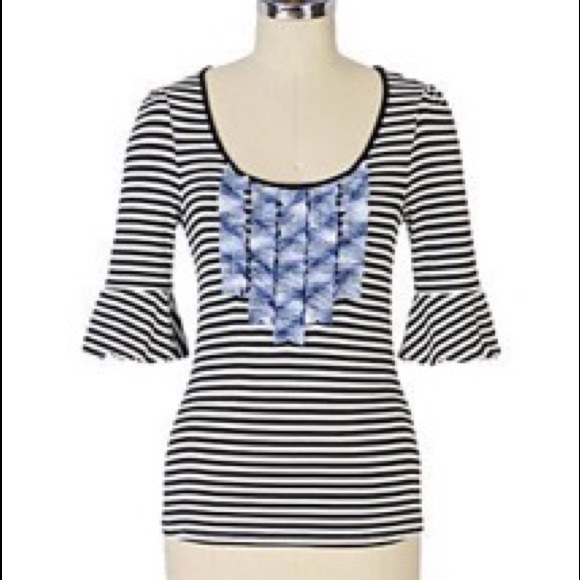 457a1229 Anthropologie Tops - Anthropologie Gondolier by Little Yellow Button