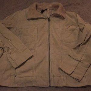 Courderoy Tan Jacket Plus
