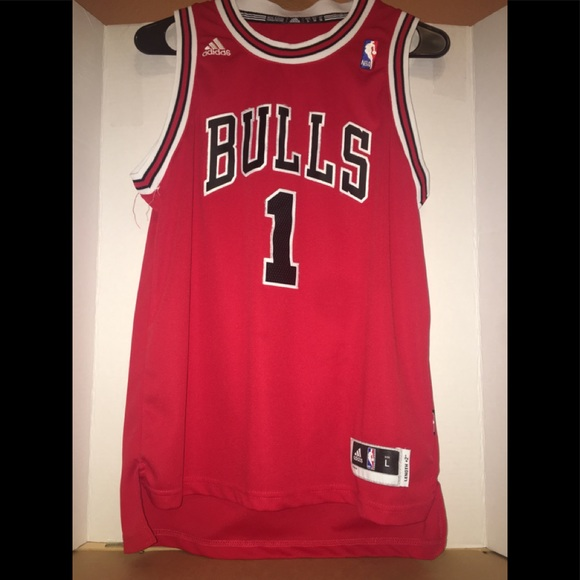 cheaper 24590 4d345 Bulls , Derrick Rose Authentic Jersey (Never Used)