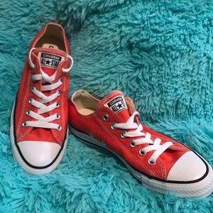 Converse chuck  all star low ox orange classic