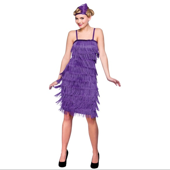flapper romper halloween costume bling fringe