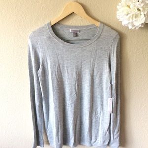 Nordstrom Sweaters - Chelsea28 Tulle Back crewneck Sweater