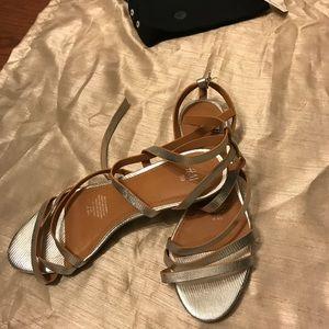 H&M silver sandals