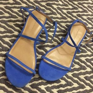 Banana Republic electric blue sandals