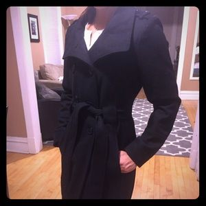 Guess fall/winter wool trench coat