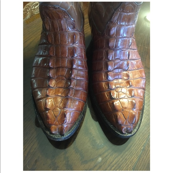 d4aea9e1a5e Amazonas Other - Men s exotic hornback alligator boots.