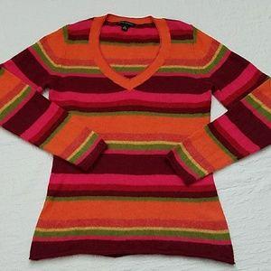 EUC 100% Angora Banana Republic V- Neck Sweater