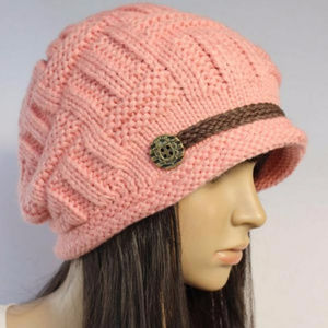 Accessories - Pink Knitted Hat