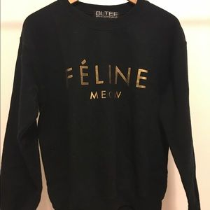 """Sweaters - """"FÉLINE"""" sweater"""