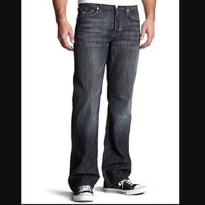 """7 For All Mankind """"A"""" pkt relaxed no break Denim."""