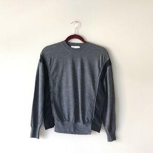 Alexander Wang • silk-panelled sweater