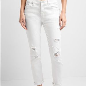GAP distressed boyfriend jeans