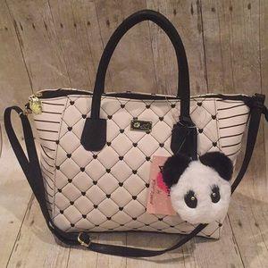 BETSEY JOHNSON NWT panda handbag