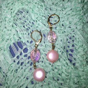 Cookie Lee💜beaded earrings