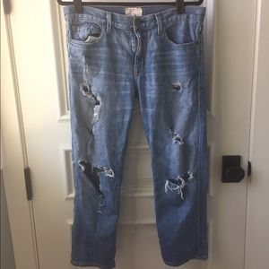 Current/Elliot woman's Boyfriend jeans size 27
