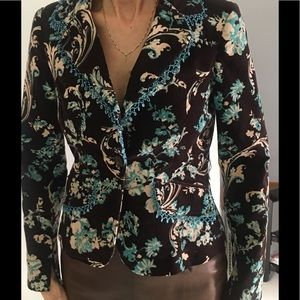 TAPESTRY VELOR BEADED JACKET