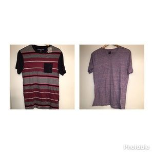 BUNDLE 2 UO men's shirts