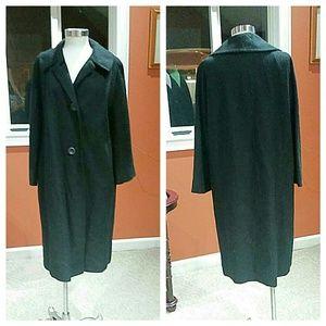 Jackets & Blazers - Hockanfun vintage black long winter coat