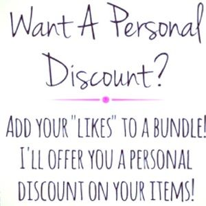 💕ADD LIKES TO A  BUNDLE AND SAVE💕