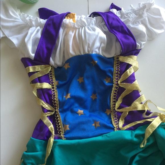 Costume Halloween Esmeralda.Disney Esmeralda Gypsy Halloween Costume Size 7 10