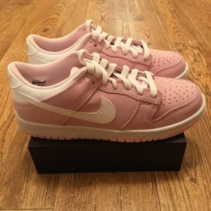 [Nike] New Dunk Low Pink (GS) Girls Size 6.5Y