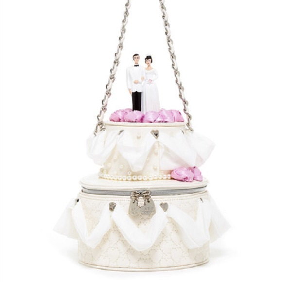 Betsey Johnson Bags Iso Wedding Cake Purse Poshmark