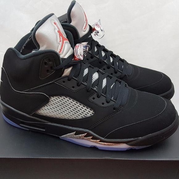 fa59a9adabb Air Jordan Shoes | Nike 5 V Retro Og Black Red Size 15 | Poshmark