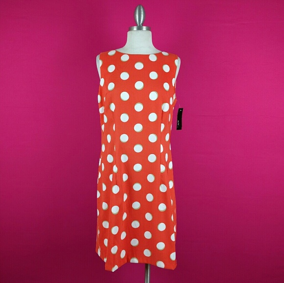 fd1f022860e6b ALYX dress size 12 Orange Polka Dot